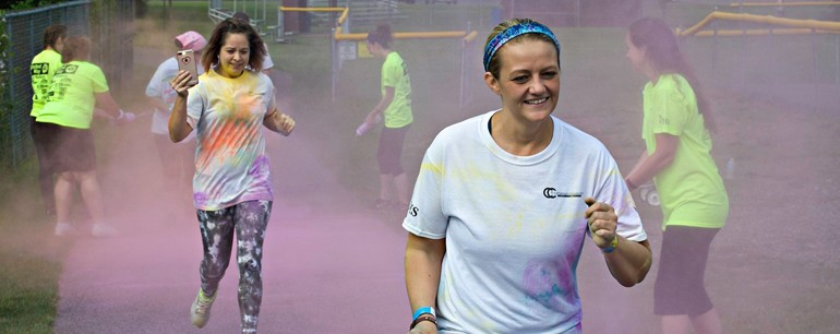 GALLERY: Catholic Charities' Color Run