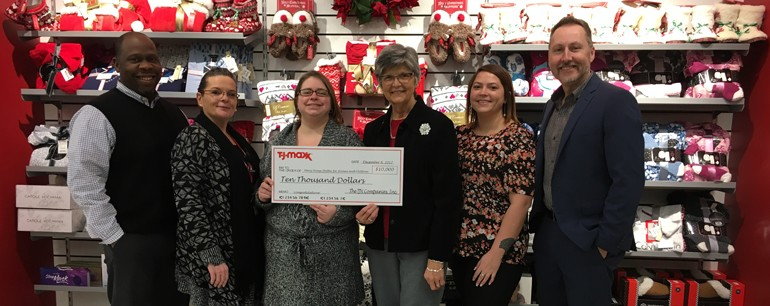 Catholic Charities Housing Office awarded TJX Foundation Grant